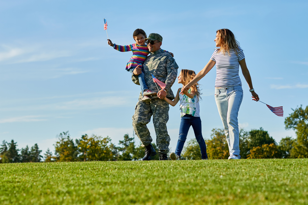 Saluting Our Military with a Military Auto Loan in Hillcrest Heights